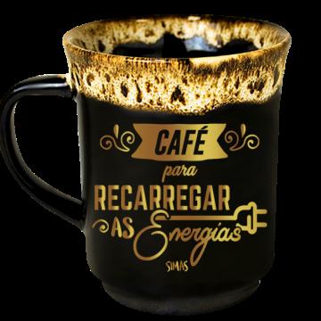 Caneca Americana Café Pra Recarregar as Energias