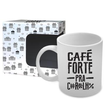 Caneca Café Forte