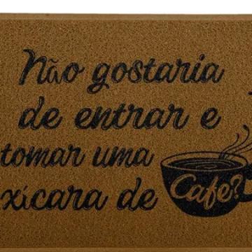 Capacho Xícara de Café - Marrom