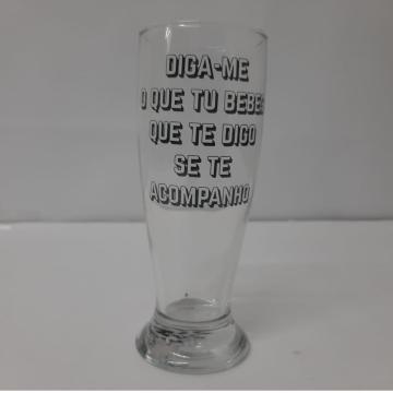 Copo de Cerveja 200ml - Diga-me O Que Tu Bebes
