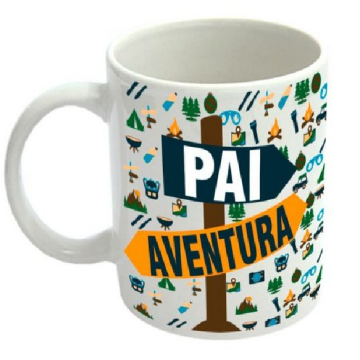 Caneca - Pai aventura