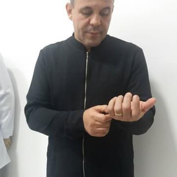 690 JALECO GABARDINE ZIPER PRETO