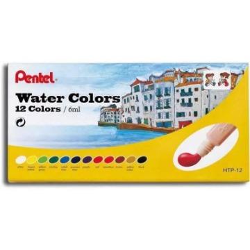 AQUARELA WATER COLORS PENTEL 12 CORES 6 ML