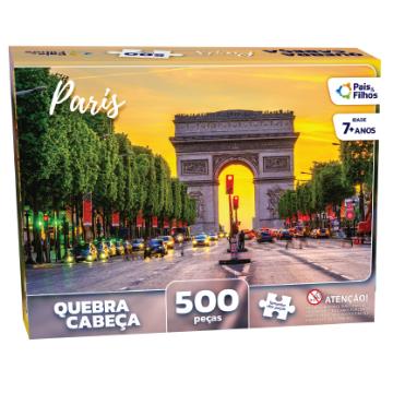 Quebra cabeças Paris 500 Peças