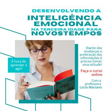 Curso Desenvolvendo a inteligência emocional na Terceira Idade para Novos Tempos