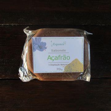 Sabonete de Açafrão - Depilação natural