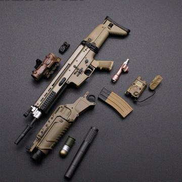 FUZIL MK-16 SCAR 1/6