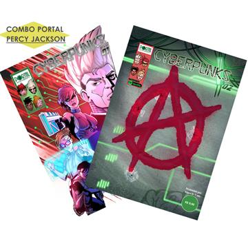 Cyberpunks /#01/ + /#02/ - Edições Digitais (com extras incluso)