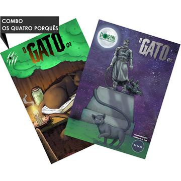 O Gato (#01) + (#02) - Edições Digitais (com extras incluso)