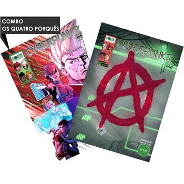Cyberpunks (#01) + (#02) - Edições Digitais (com extras incluso)