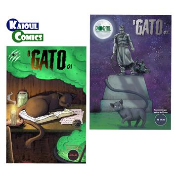 O Gato [#01 + #02] - Edições Digitais (com extras incluso)
