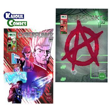 Cyberpunks [#01 + #02] - Edições Digitais (com extras incluso)