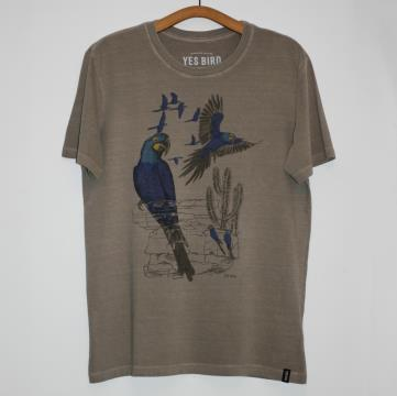 Camiseta Arara-azul-de-lear - Yes Bird