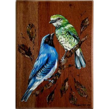 Saí-andorinha 2 - arte em madeira Bio & Mãe Terra