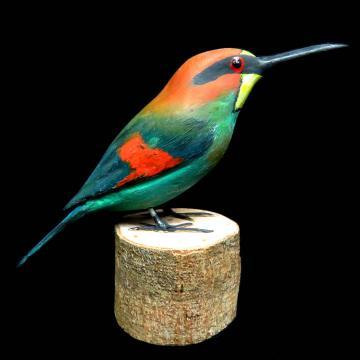 Abelharuco - Miniatura em madeira Valdeir José