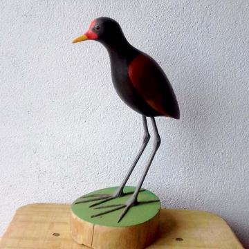 Jaçanã - Miniatura em madeira Valdeir José
