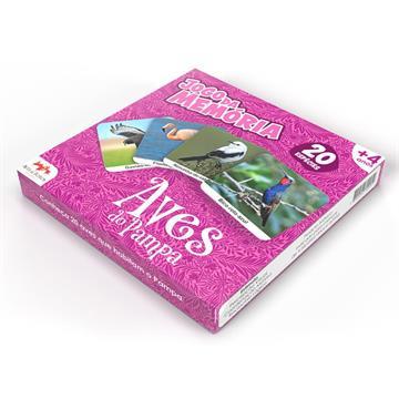 Jogo da Memória Aves do Pampa