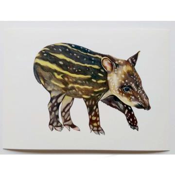 Anta filhote - Reprodução Fine Art