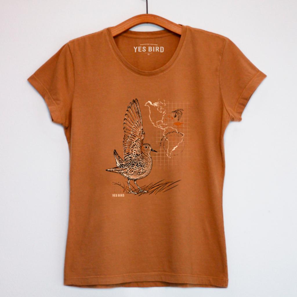 Camiseta Maçarico-acanelado - Yes Bird