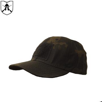 Boné Rip Stop Cia Militar 6 Gomos - Multicam Black