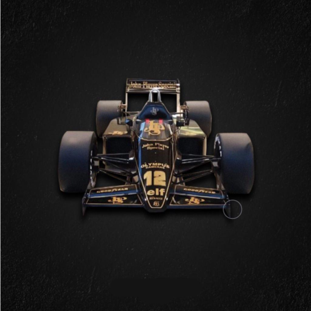 Fórmula 1 Lótus Tamanho Real