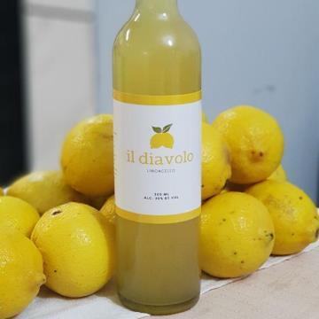 Limoncello  - Il Diavolo - Licor Artesanal de Limão Siciliano