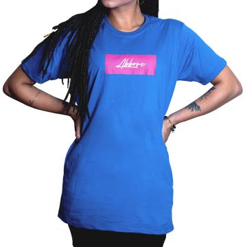 Camiseta Abbove Colors of Desire - Azul