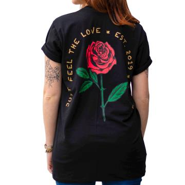 Camiseta Abbove Just Feel The Love - Preto