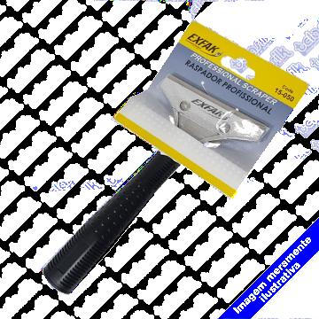 Raspador MULTIUSO 10 cm  - C/ Cabo 14cm - 15-050