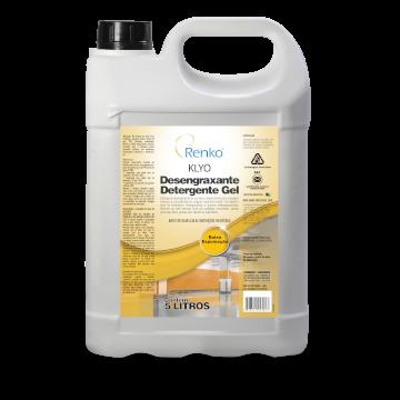 Klyo Desengraxante Detergente Gel - Sem cheiro - 5L