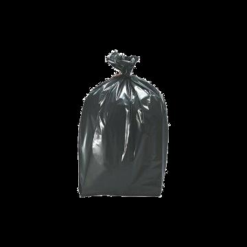 Saco plástico preto de lixo - 100 litros - 10 unidades