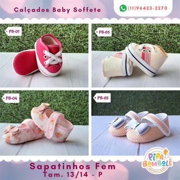 SAPATINHO BABY GIRL TAM P