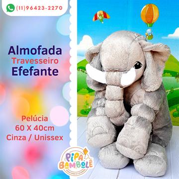 ALMOFADA ELEFANTE 60 CM