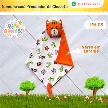 NANINHA MASC MIMOS C/PRENDEDOR DE CHUPETA