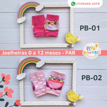 JOELHEIRA FEM 0-12 MESES UNITÁRIO