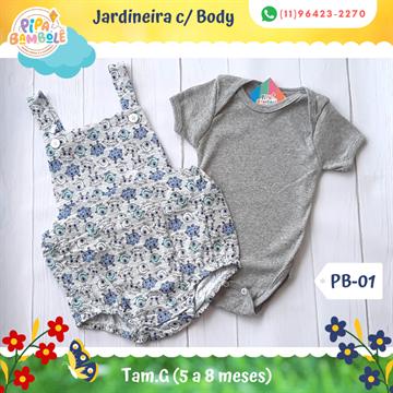 JARDINEIRA MASC C/BODY TAM G