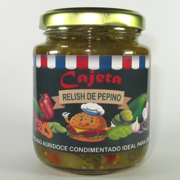 RELISH DE PEPINO 240G