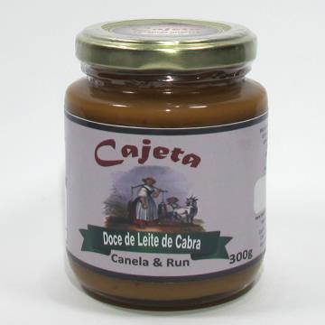 DOCE DE LEITE DE CABRA COM CANELA & RUM 300G
