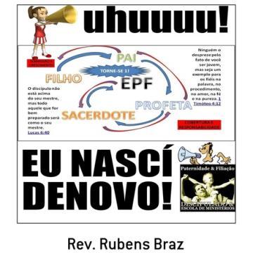Livro Eu Nascí Denovo - Módulo Salvação - Escola de Filiação - EPF