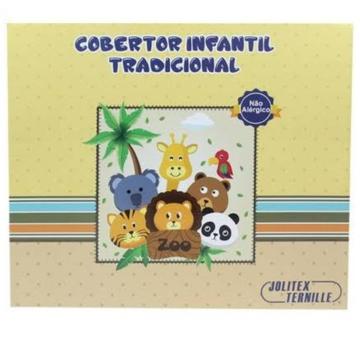 COBERTOR JOLITEX INFANTIL TRADICIONAL PELO ALTO