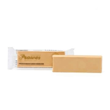 Barra de chocolate Caramelisé Puro 28g - Prawer