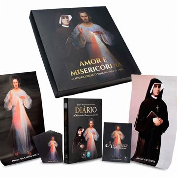 BOX AMOR E MISERICÓRIDA (Kit Santa Faustina)